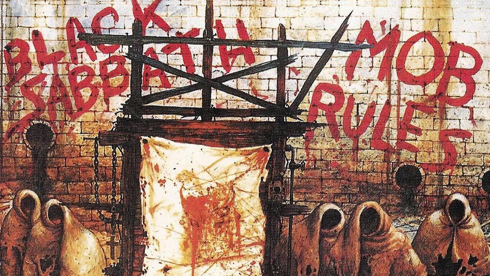 """Tapa del disco """"Mob Rules"""" BLACK SABBATH (1981)"""