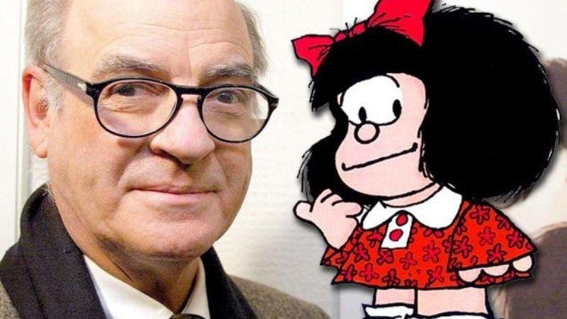 Quino y Mafalda, su creación.