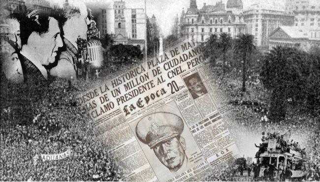 17 de octubre 1945 - Argentina
