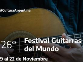 Festival Guitarras del mundo 2020