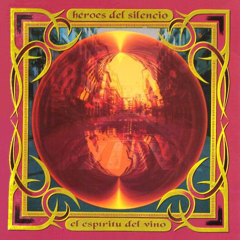 """Tapa del disco """"El espíritu del vino"""" - Héroes del Silencio (1993)"""
