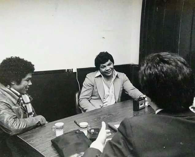 Sergio Palma y Víctor Galíndez