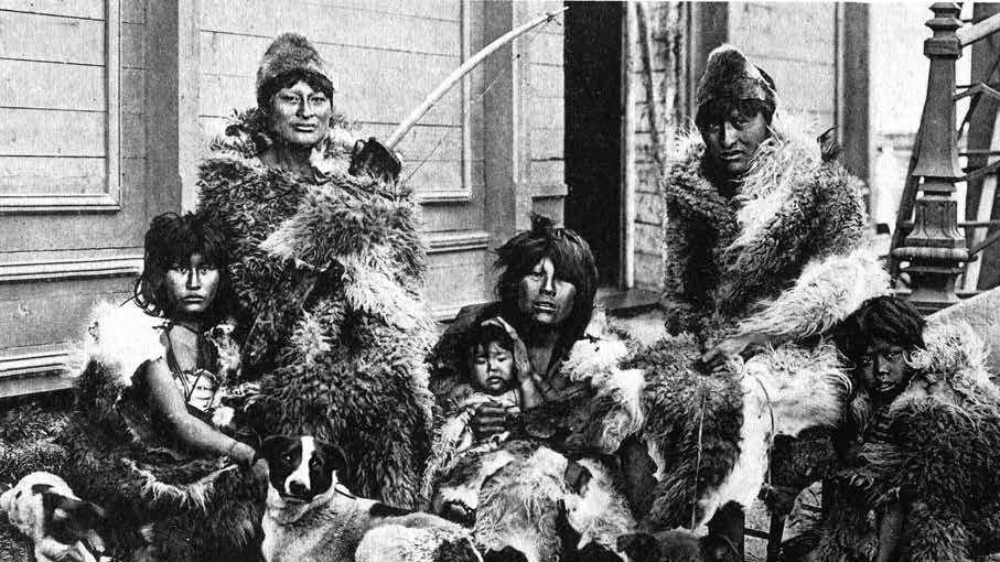 Indios salvajes del Fin del Mundo. F: Difusión