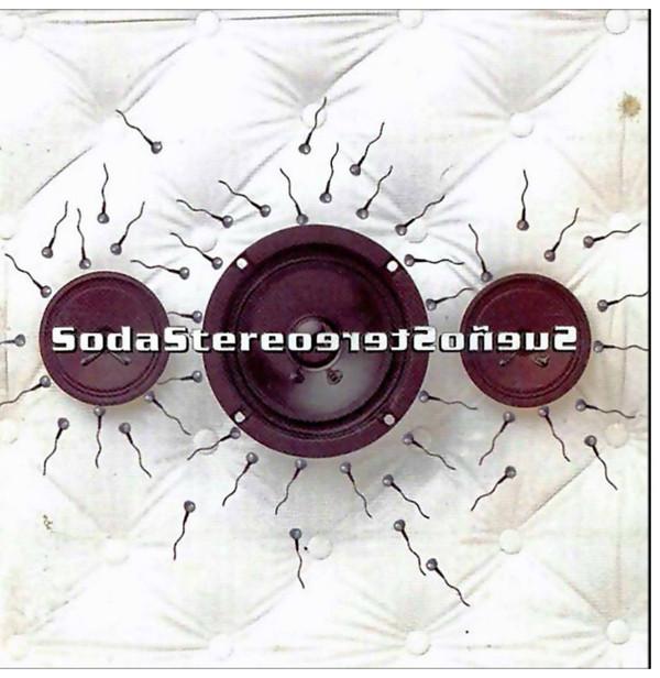 """""""Tapa del disco Sueño Stereo"""" SODA STEREO (2015)"""