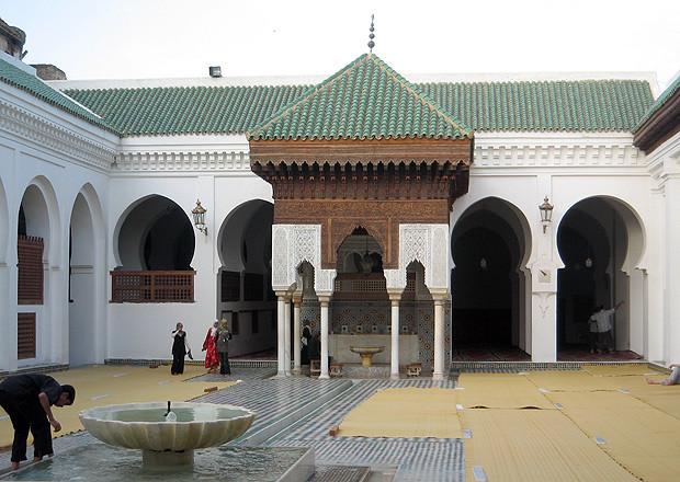 Biblioteca de al-Qarawiyyin - Marruecos