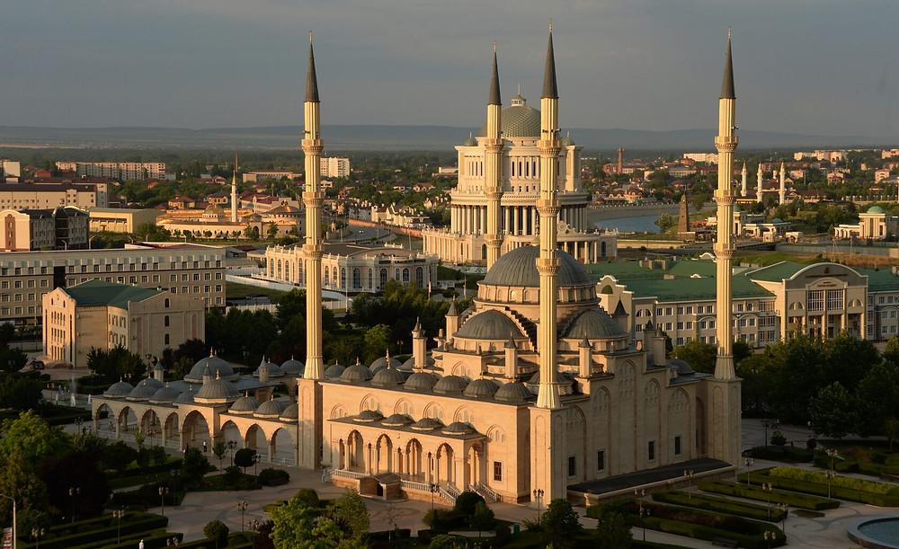 Corazón de Chechenia es una de las mezquitas más grandes de Rusia y de Europa