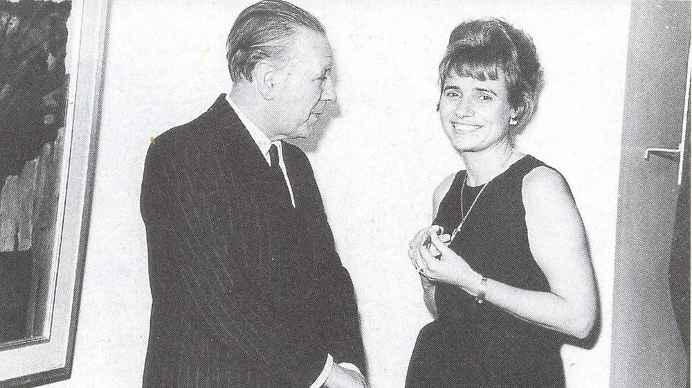 Luis Borges y Norah Lange