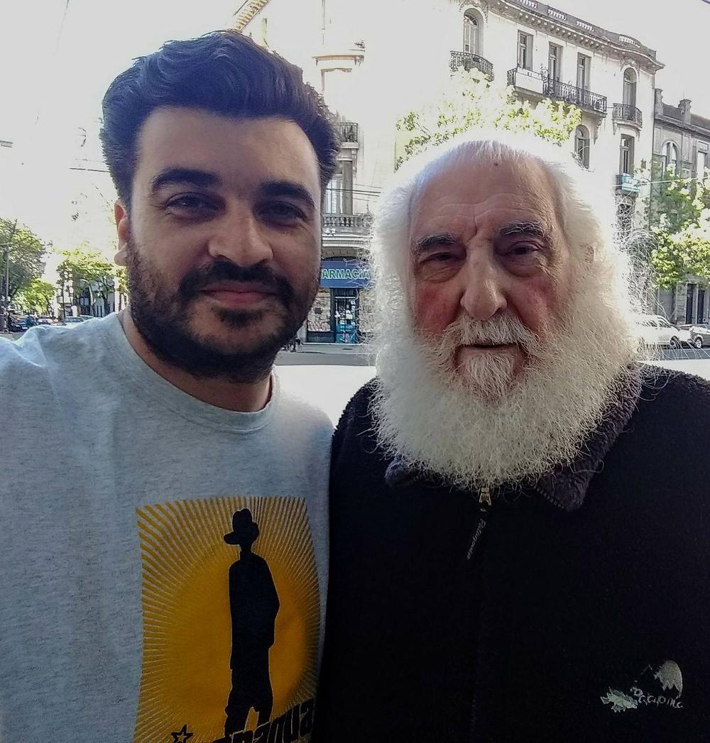 Patricio Eleisegui y Jose Luis Larralde
