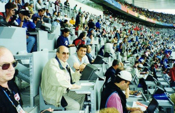 Periodismo Neuquino, mundial fútbol Francia 98