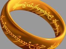 El anillo del Señor de los Anillos
