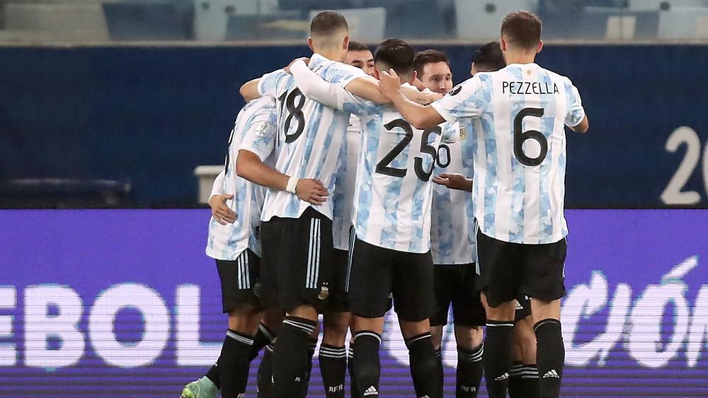 Seleccion argentina - F: Goal