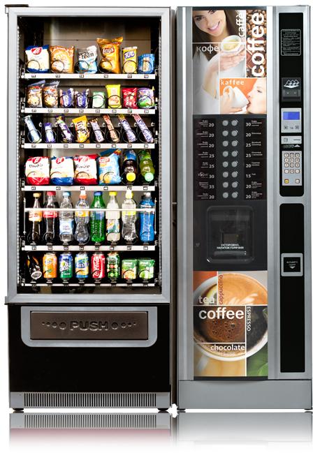 RossoBar Long** - Торговый комбинированный автомат