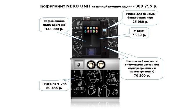 Кофепоинт NERO UNIT полная комплектация