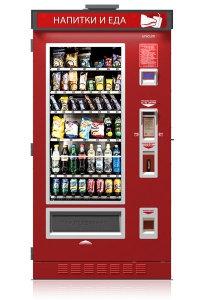 FoodBox** - Уличный снековый торговый автомат