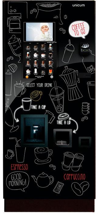TOUCH TO GO BAR** (1 кофе + 6 растворимых + сахар)