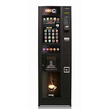 ROSSO SD** (с подсветкой) - Торговый автомат для приготовления горячих напитков