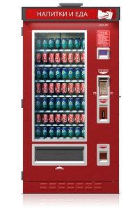 FoodBox Lift** - Уличный снековый торговый автомат
