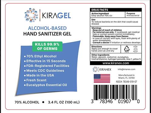 Case of 3.4oz KiraGel™ (20 ct.)