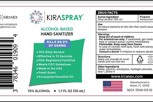Case of 1.7oz KiraSpray™ (24 ct.)