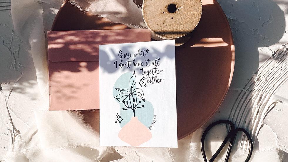 Plantita Greeting Card