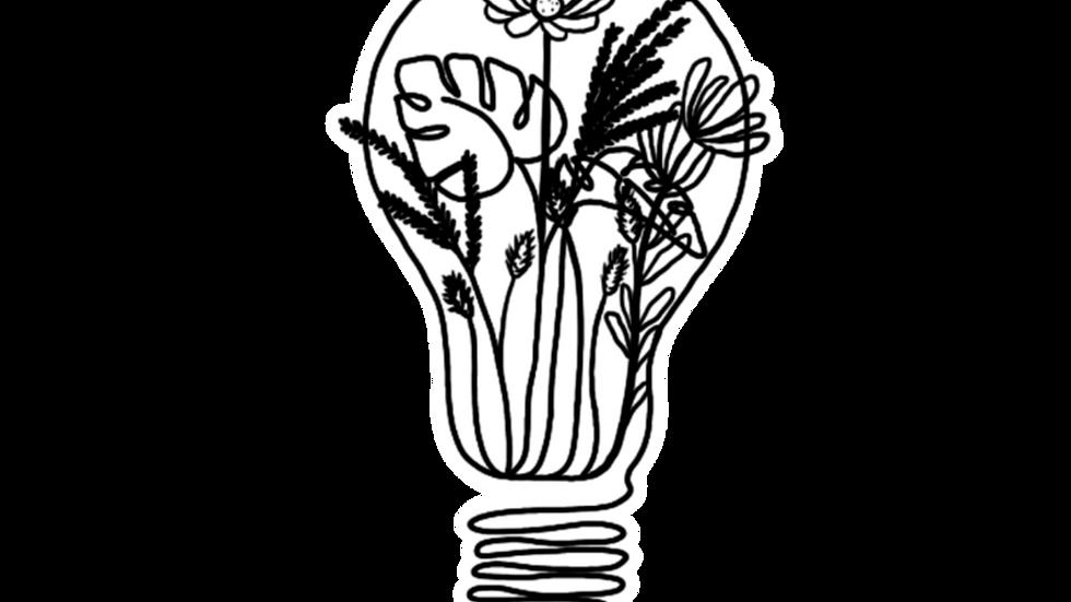 The Great Design Bulb Sticker