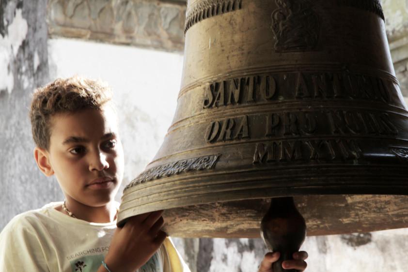 Aprendiz de sineiro | São João Del Rey