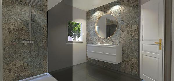 projet de travaux d'une salle de bain