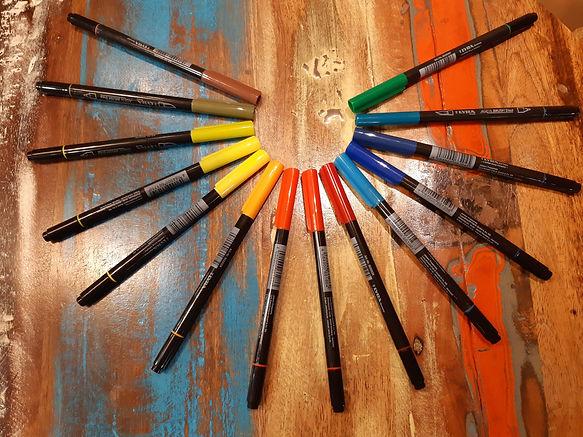 décorateur couleur pour croquis et esquisses
