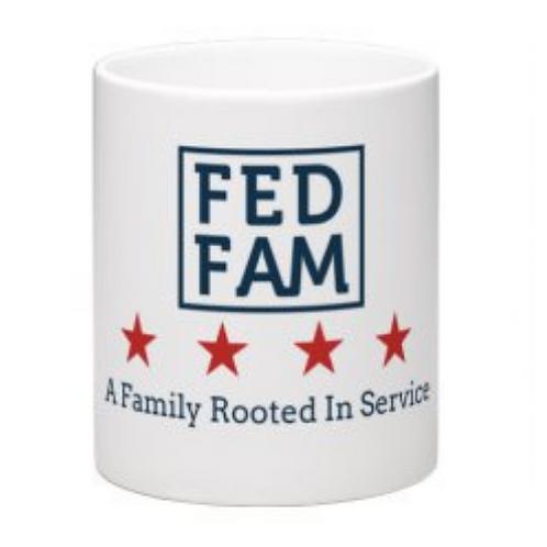 FedFam Wraparound Mugs - 11 oz - White