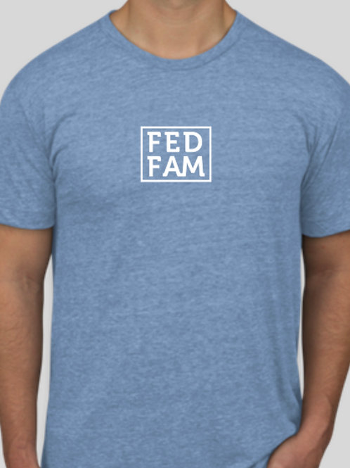FedFam American Apparel USA‑Made Tri-Blend T-shirt