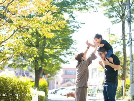 お誕生日記念撮影@いつもの場所