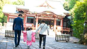 七五三出張撮影@武蔵野八幡宮