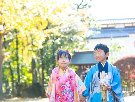 七五三出張撮影@石神井氷川神社