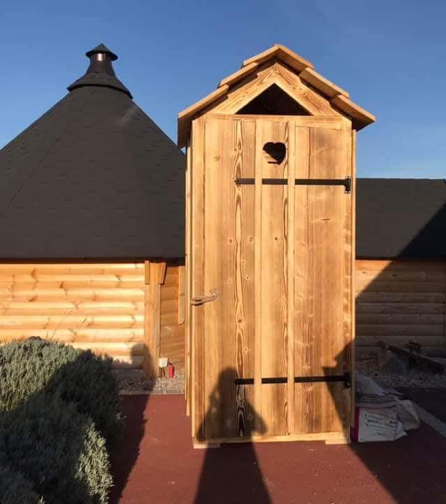 WC secs Wild Wood Alsace