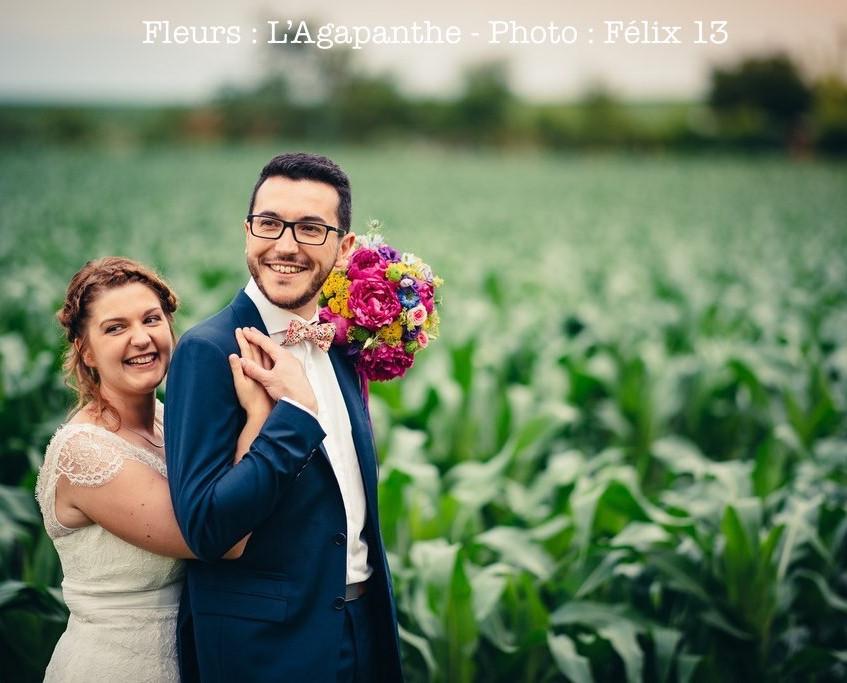 L'Agapanthe Fleuriste alsace mariage