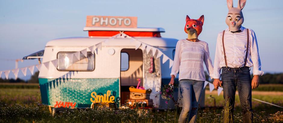 La Caravane à souvenirs / Photobooth
