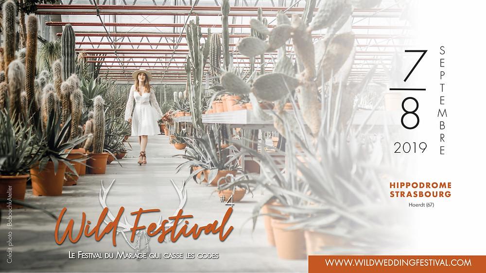 Facebook Cover Wild Wedding Festival 2019