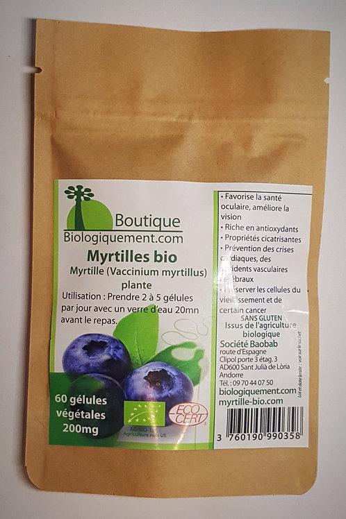 Myrtilles bio