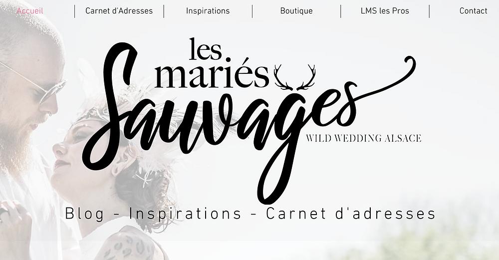 Caroline Wild / Les Mariés Sauvages / Blog - Inspirations - Carnet d'Adresses