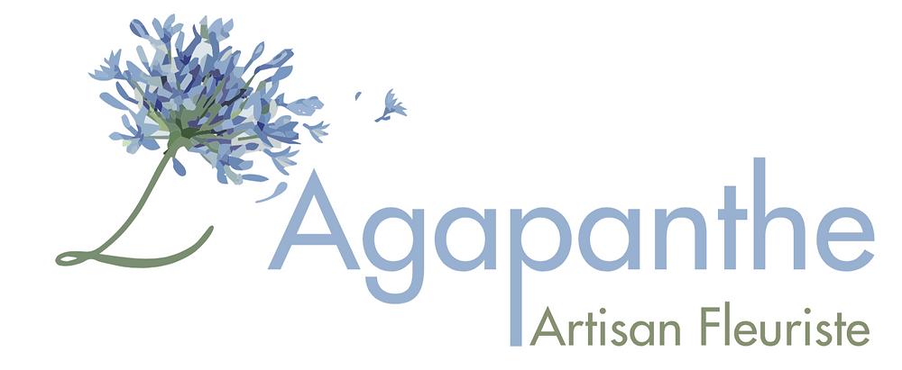 Logo l'Agapanthe fleuriste alsace