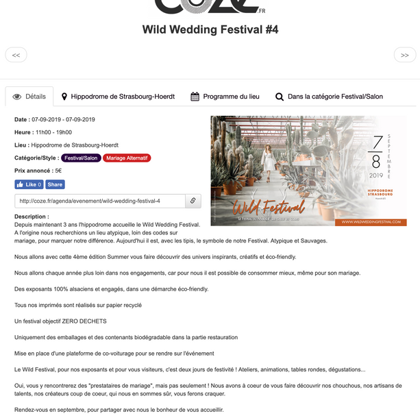 Articles COZE Magazine 2019