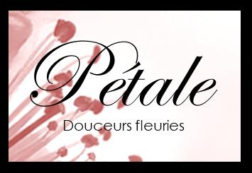 """Logo Pétale """"Douceurs Fleuries"""""""