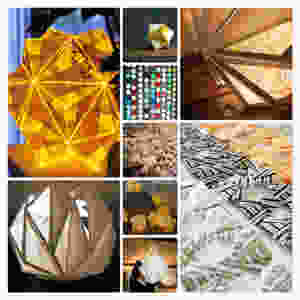 Guirlande lumineuses en origami by Limyla