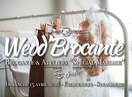 #2 WEDD'BROCANTE - 15 AVRIL 2018