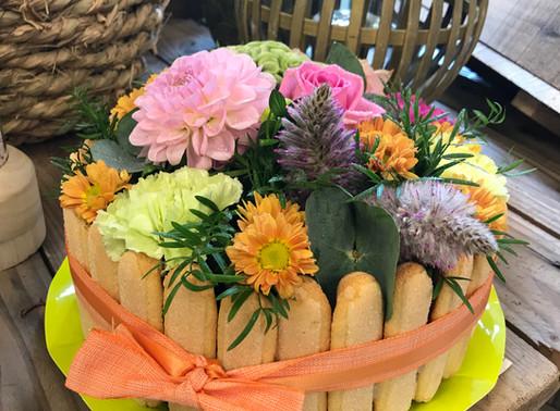 Notre Gâteau fleurit