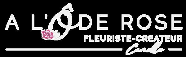Logo O de Rose VF BLANC_Logo O Rose long