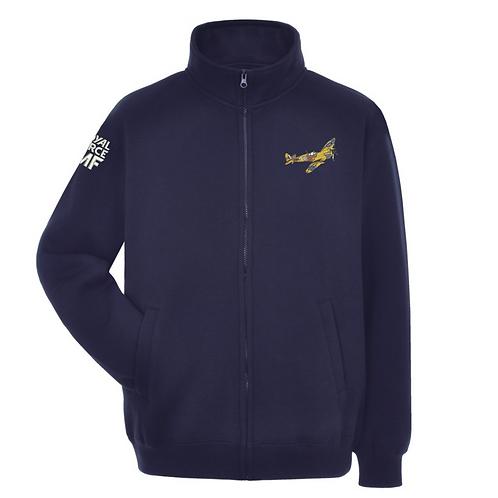 Battle of Britain Memorial Flight MK356 Spitfire full zipped sweatshirt