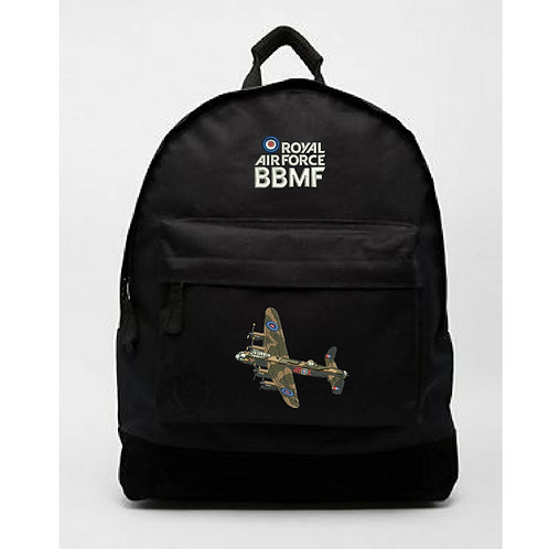 Battle of Britain Memorial Flight PA474 Lancaster backpack