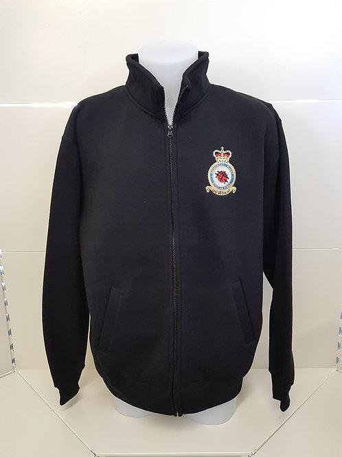 Battle of Britain Memorial Flight badge full zipped sweatshirt