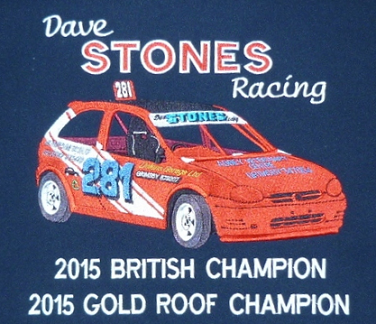 Dave Stones racing Shani's Embroidery
